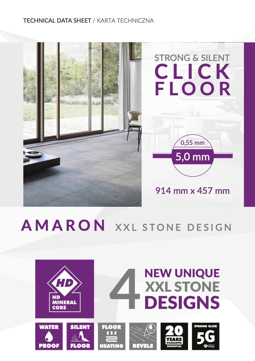 AMARON XXL Stone Design